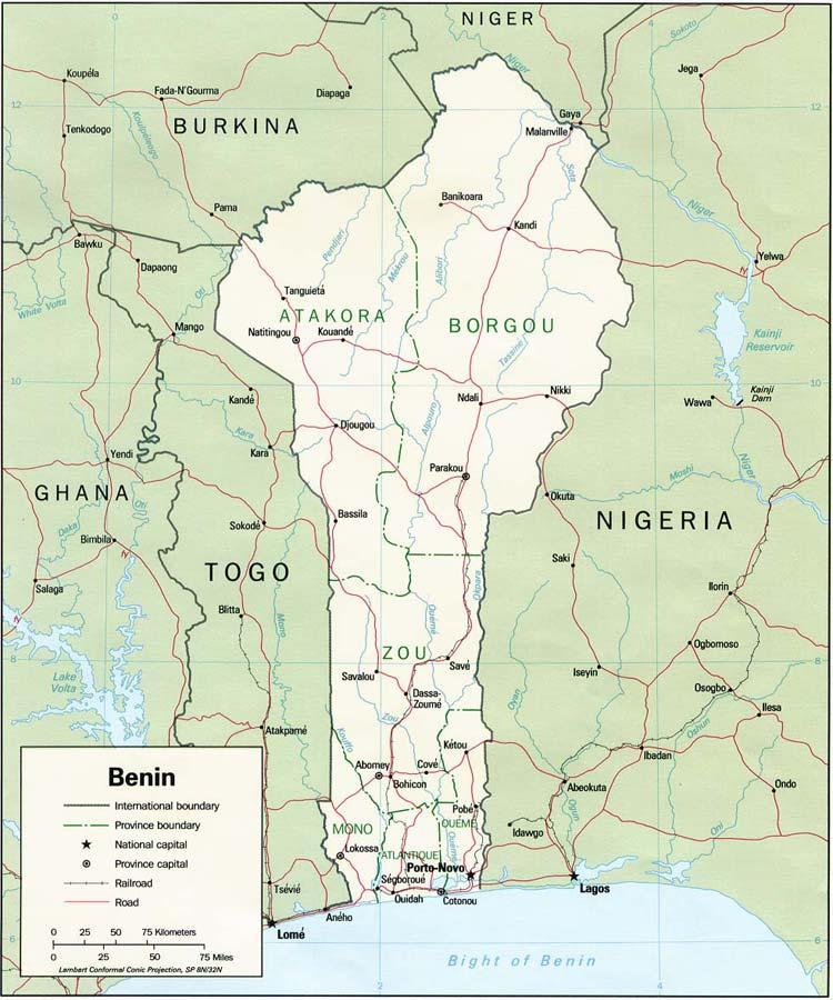 Jolinaiko Eco Tours | Maps of Ghana, Togo, Benin and Burkina Faso