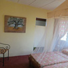 The Savannah room in the Sunbird Lodge in Accra